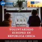 Cuerpo Europeo Solidaridad República Checa con niños