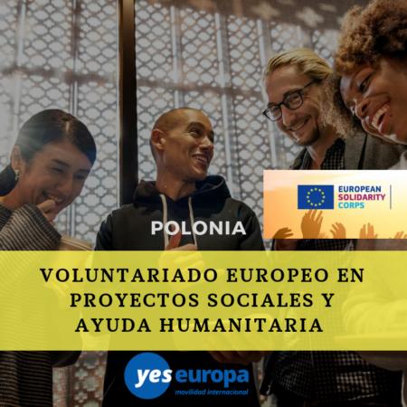 Cuerpo europeo solidaridad Polonia de 12 meses