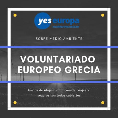 Oportunidad SVE Grecia sobre medio ambiente