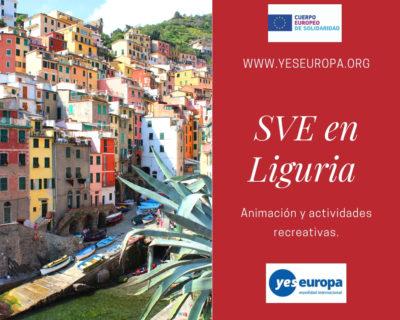 SVE en Liguria (Italia) en animación