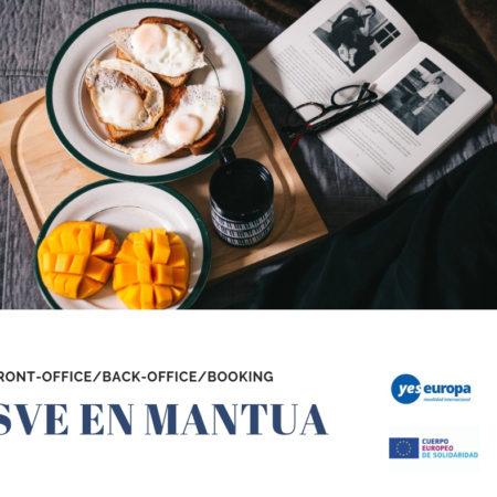 SVE en Italia en trabajos de oficina en un bed and breakfast