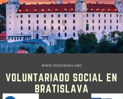 Plazas en Bratislava en proyectos sociales