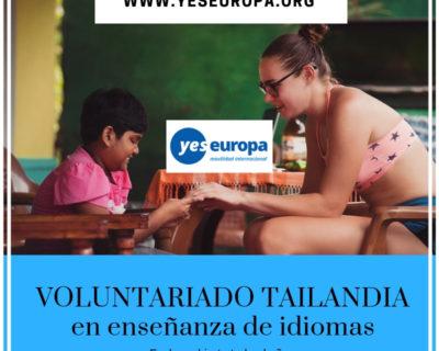 Voluntariado Tailandia sobre idiomas