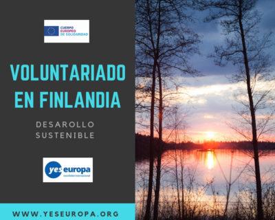 CES en Finlandia en desarrollo sostenible (1 chico)