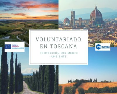 Voluntariado en Toscana (Italia) en protección del medio ambiente