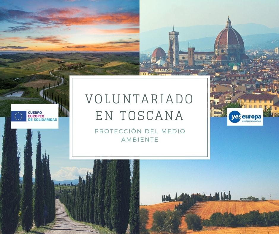 Voluntariado en Toscana