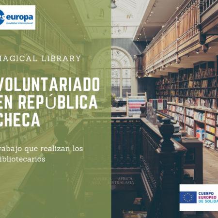 Voluntariado en bibliotecas República Checa