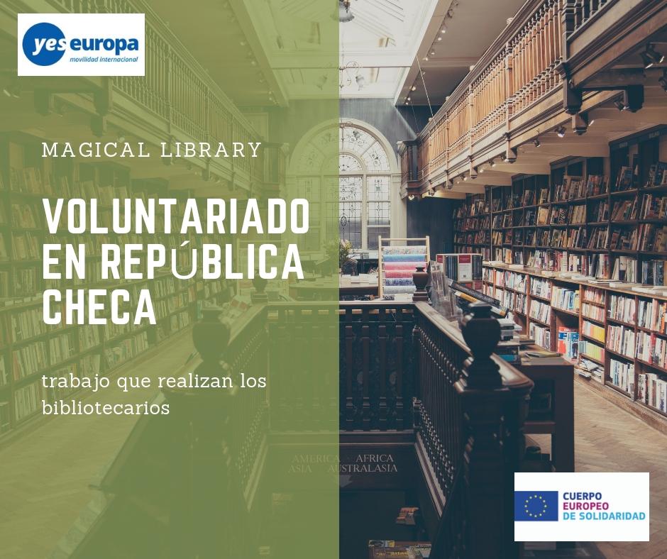 Voluntariado en bibliotecas