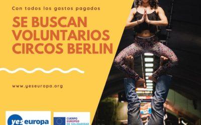 Voluntarios para circos en Alemania (Berlín)