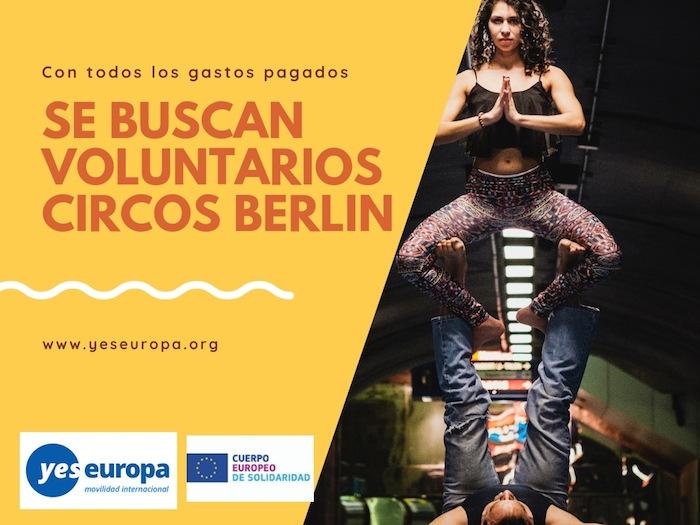 Voluntarios para circos en Alemania