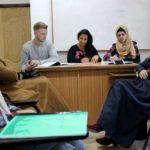 ser voluntario en palestina clases