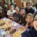 ser voluntario en palestina comida