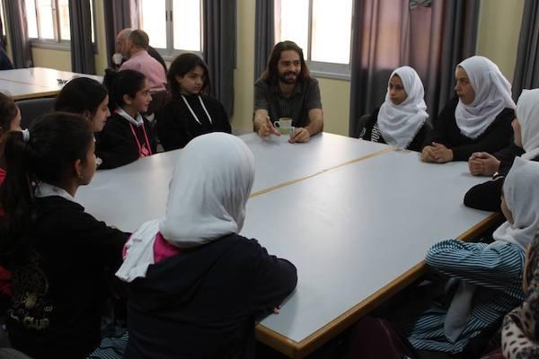 ser voluntario en palestina como profesor
