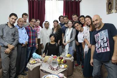 ser voluntario en palestina vivir con fammilias