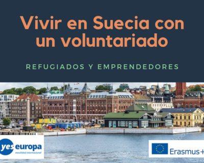 Ser voluntario en Suecia con refugiados