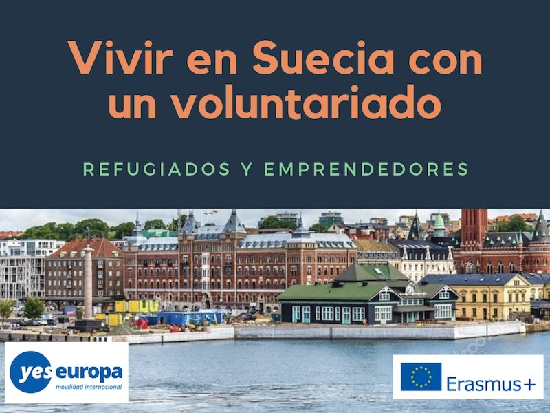 Ser voluntario en Suecia