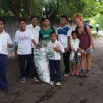 voluntariado en guatemala limpieza