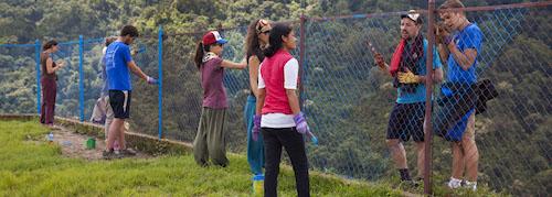 voluntariado verano nepal construccion