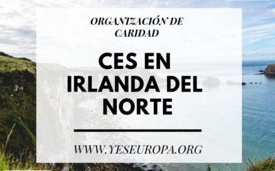 CES en Irlanda del Norte en una organización de caridad (1 chica)