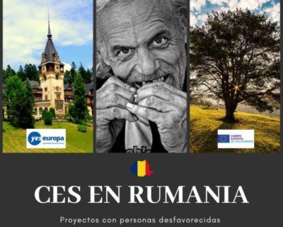 CES en Rumanía para trabajar con personas desfavorecidas
