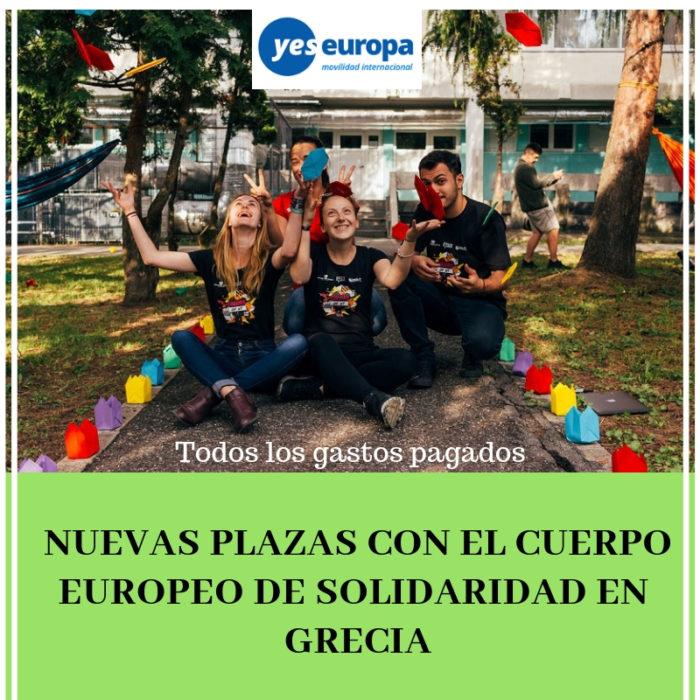 Cuerpo Europeo Solidaridad Grecia
