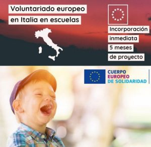 Cuerpo Europeo Solidaridad Italia en escuelas