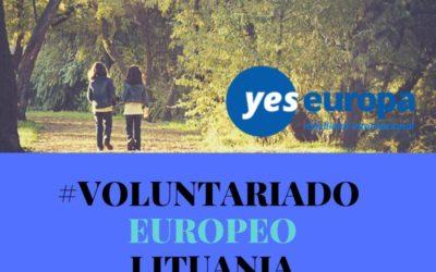 Cuerpo Europeo Solidaridad Lituania en un centros juveniles