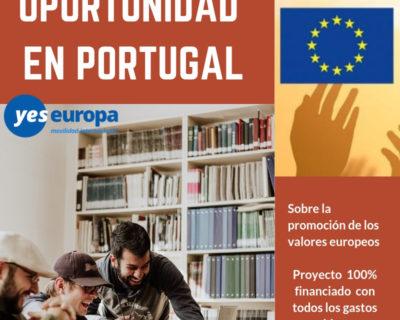 Cuerpo Europeo de Solidaridad Portugal sobre la UE
