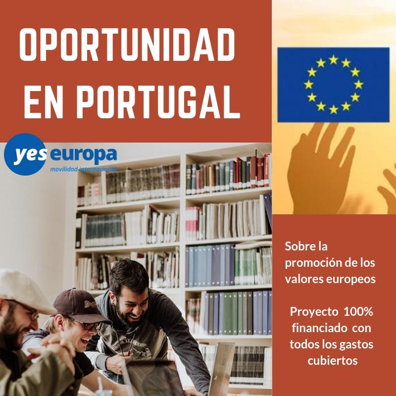 Cuerpo Europeo de Solidaridad Portugal
