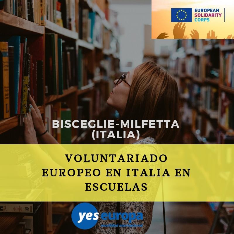 Cuerpo europeo solidaridad Italia