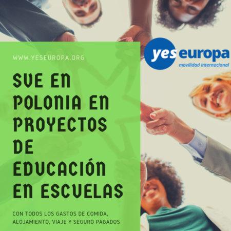 ESC Polonia en proyectos de educación en escuelas
