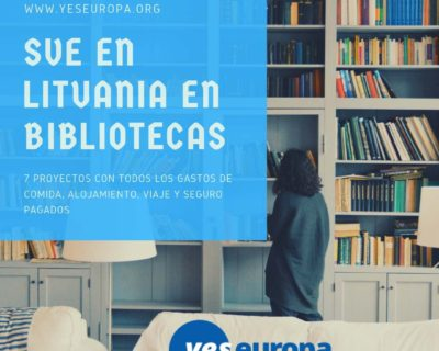 EVS en Lituania cultural en bibliotecas