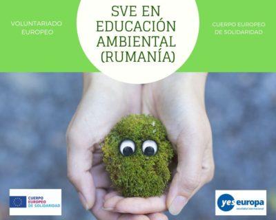 Hacer Voluntariado Rumanía en educación ambiental