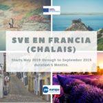 Ser Voluntario Europeo en Francia (Chalais)