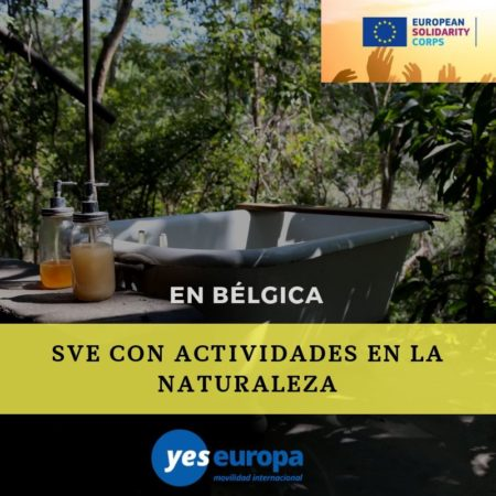5 plazas SVE en Bélgica con actividades en la naturaleza