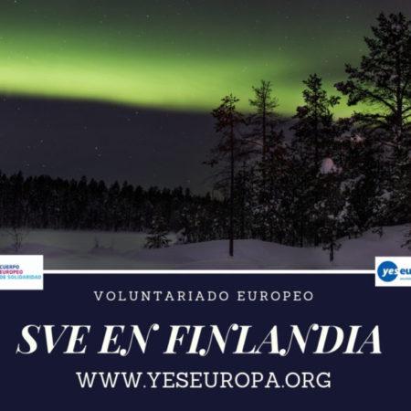 SVE en Finlandia  en trabajos con jóvenes
