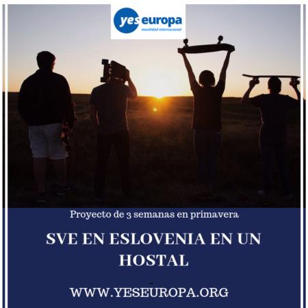SVE en Eslovenia en un Hostal juvenil