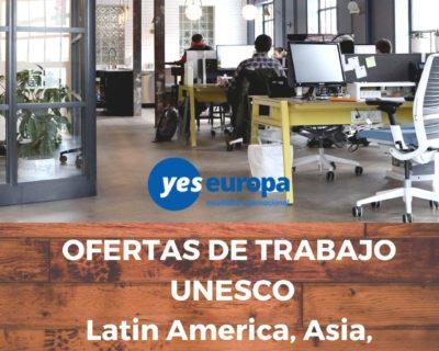 Ofertas de trabajo UNESCO en todo el mundo