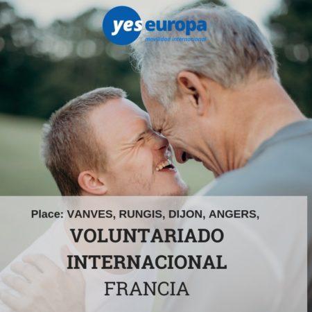 Voluntariado Francia larga duración cerca de París