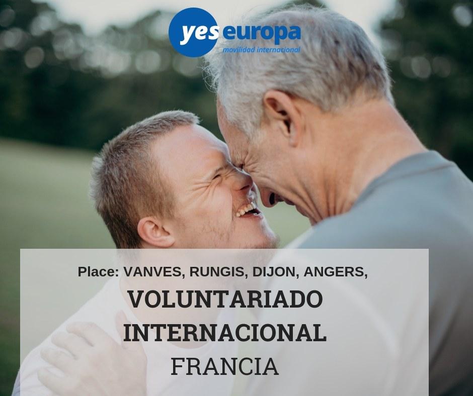 Voluntariado Francia larga duración