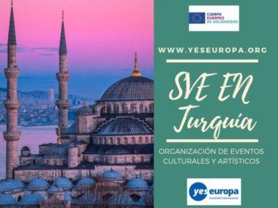 Voluntariado en Turquía en eventos culturales