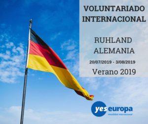 Voluntariado verano en Alemania