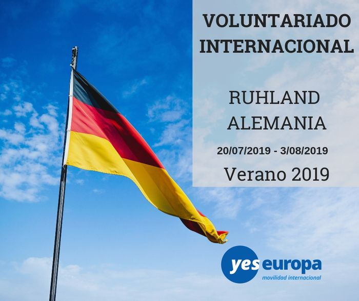 Voluntariado verano en Alemania