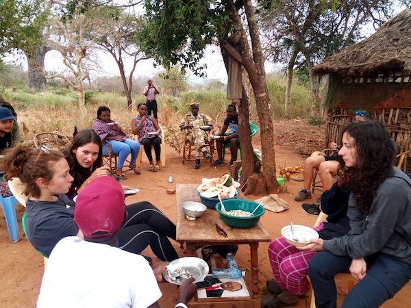 voluntariado kenya comida