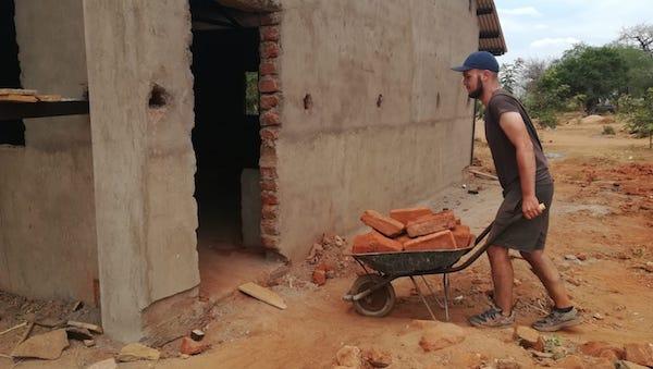 voluntariado kenya construccion escuelas