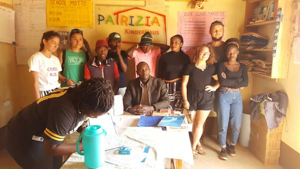 voluntariado kenya escuelas