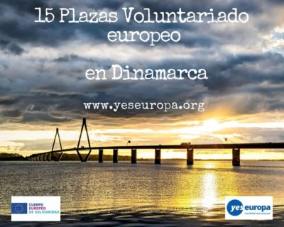Plazas Voluntariado Europeo en Dinamarca