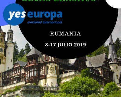 Becas Erasmus en Romania de 8 días en Julio