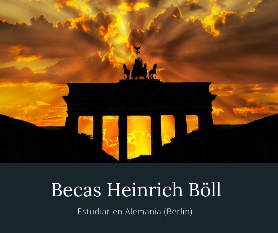 Becas Heinrich Böll