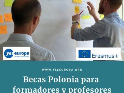 Becas para profesores y formadores en Polonia